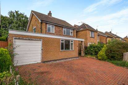3 Bedrooms Detached House for sale in Holywell Drive, Loughborough, Leicester, Leicestershire