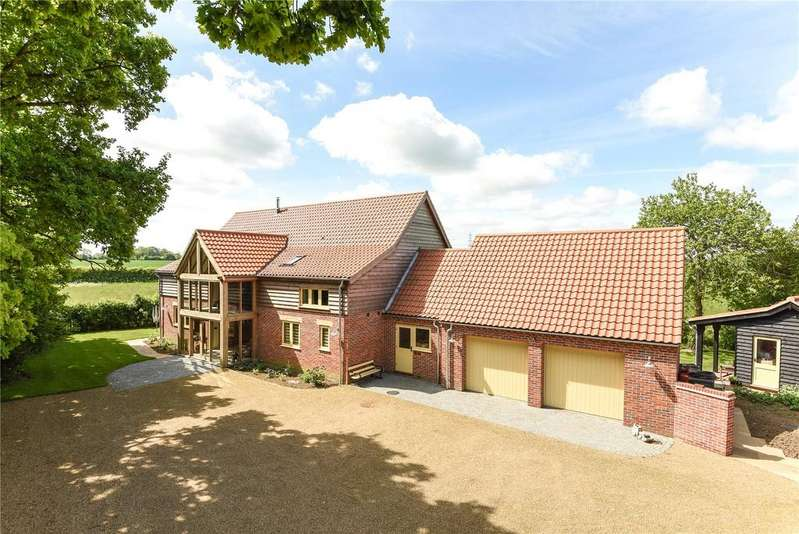5 Bedrooms Barn Conversion Character Property for sale in Stone Road, Yaxham, Dereham, Norfolk