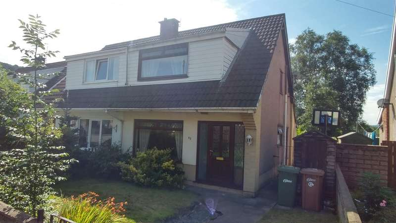 3 Bedrooms Semi Detached House for sale in Glyn Bedw, Llanbradach, Caerphilly
