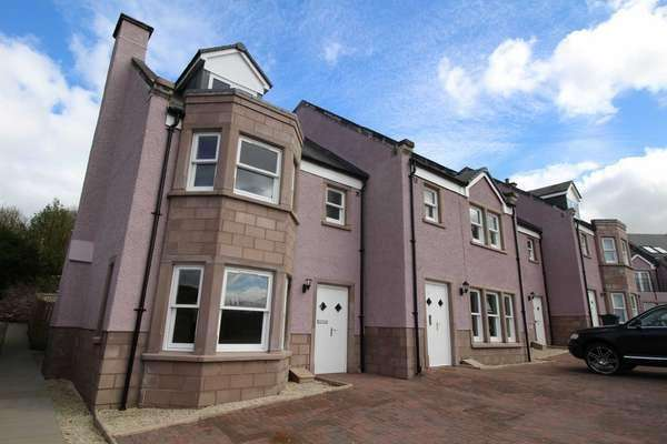 4 Bedrooms End Of Terrace House for sale in 1 Langhouse Mews, Langhouse Road, Inverkip, PA16 0GG
