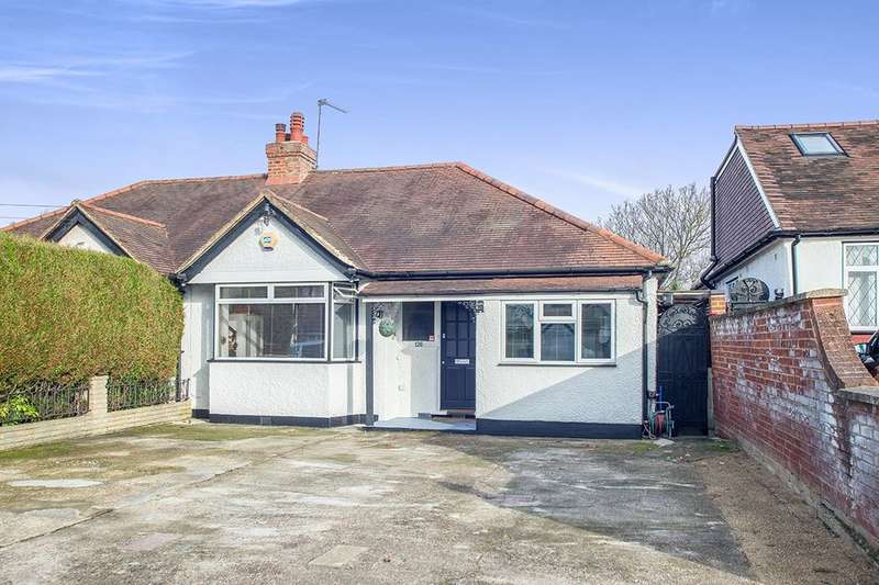 4 Bedrooms Semi Detached Bungalow for sale in Tudor Avenue, Worcester Park, KT4