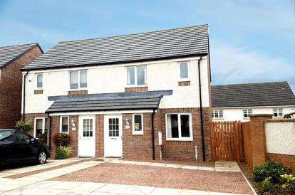 3 Bedrooms Semi Detached House for sale in Lochlea Wynd, Moorfield