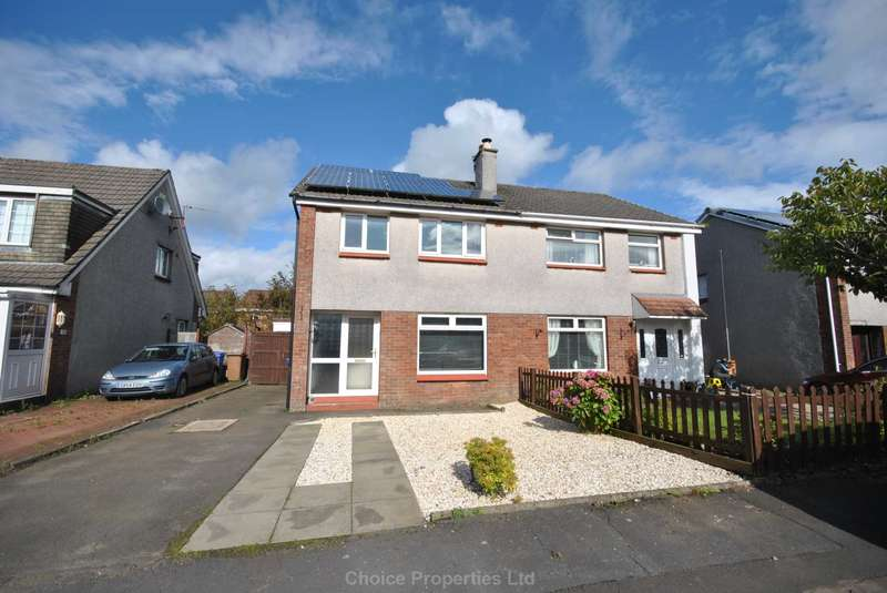 3 Bedrooms Semi Detached House for sale in Colonsay Place, Kilmarnock, KA3 2JU