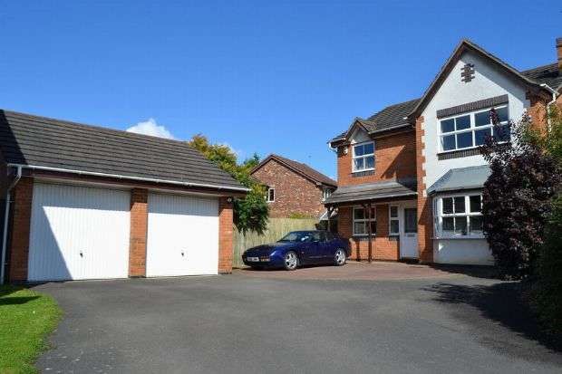4 Bedrooms Detached House for sale in Cottesbrooke Gardens, East Hunsbury, Northampton NN4 0DE