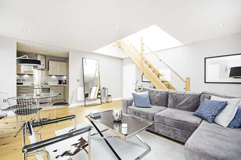 3 Bedrooms Flat for sale in Lee Street, Haggerston, E8
