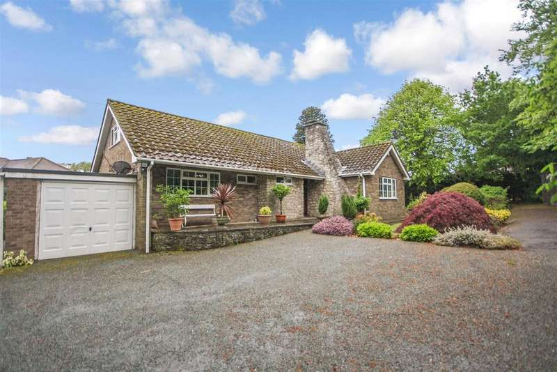 4 Bedrooms Detached Bungalow for sale in Broomhall, Trefonen Road, Oswestry