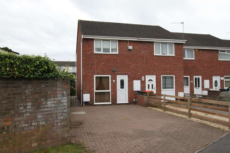 2 Bedrooms End Of Terrace House for sale in Bideford Road, Newport