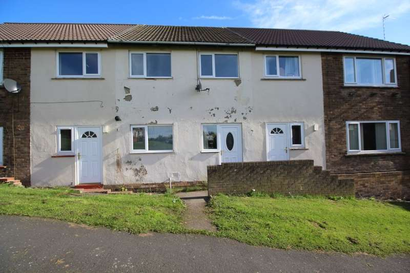 2 Bedrooms Terraced House for sale in Redwood Flats, Brandon, Durham, DH7