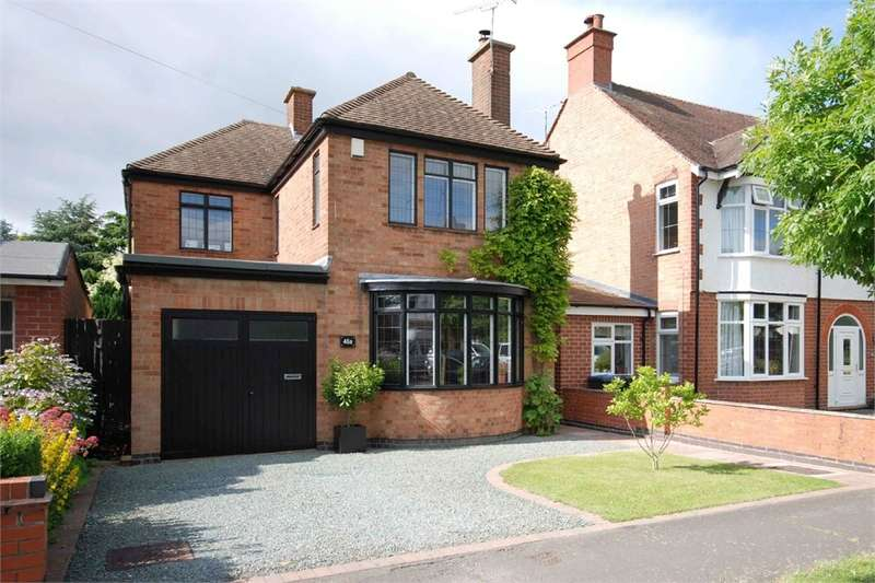 3 Bedrooms Detached House for sale in Sidney Road, Hillmorton, RUGBY, Warwickshire
