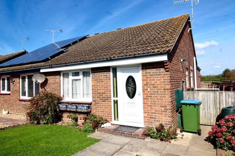 2 Bedrooms Semi Detached Bungalow for sale in Osprey Gardens, Bognor Regis, PO22