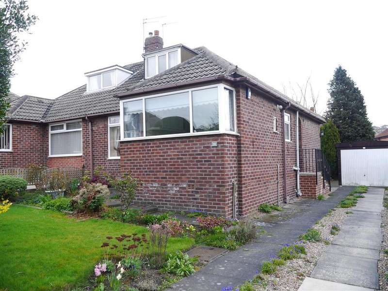 3 Bedrooms Semi Detached Bungalow for sale in Ashbourne Oval, Bolton, Bradford, BD2 4DH