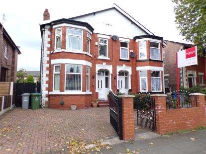 3 Bedrooms Semi Detached House for sale in Upper Chorlton Road, Whalley Range, Greater Manchester