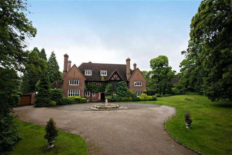 8 Bedrooms Detached House for sale in Bracebridge Road, Four Oaks Estate, Sutton Coldfield
