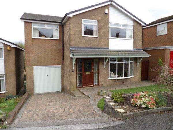 4 Bedrooms Detached House for sale in Austerlands, Oldham OL4