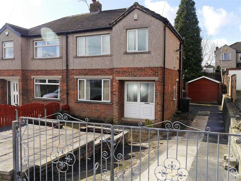 3 Bedrooms Semi Detached House for sale in Belmont Rise, Low Moor, Bradford