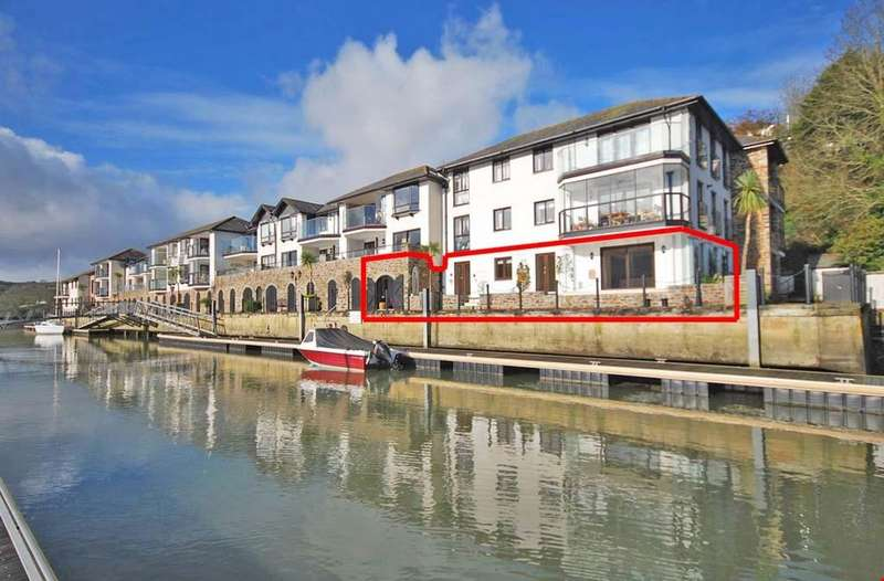 2 Bedrooms Ground Flat for sale in Malpas, Truro, South Cornwall , TR1