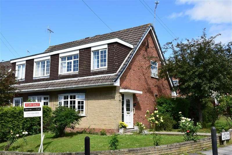 3 Bedrooms Semi Detached House for sale in Curlew Avenue, CH49