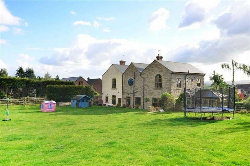 4 Bedrooms Detached House for sale in Highfield House, High Street, Apperknowle, Dronfield, Derbyshire, S18