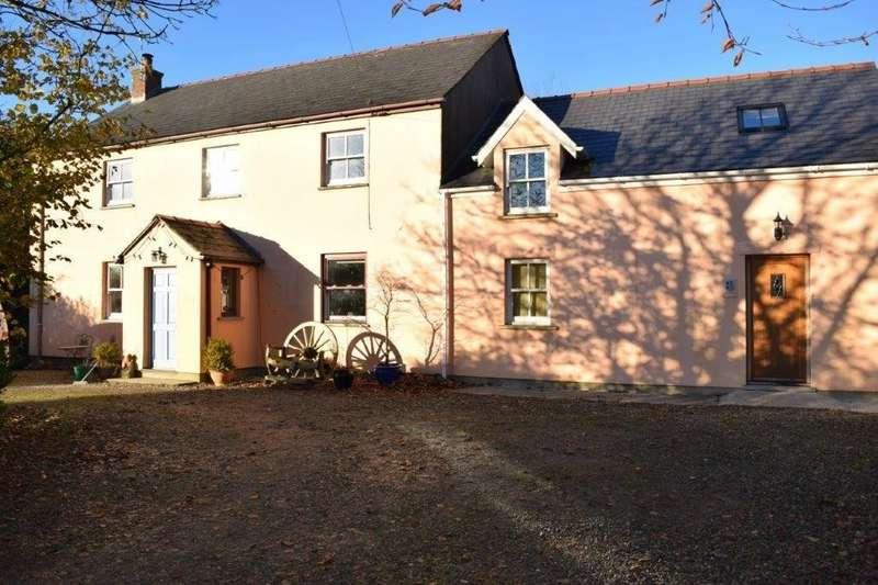 4 Bedrooms Detached House for sale in Cysgod y Garn, Mynachlogddu