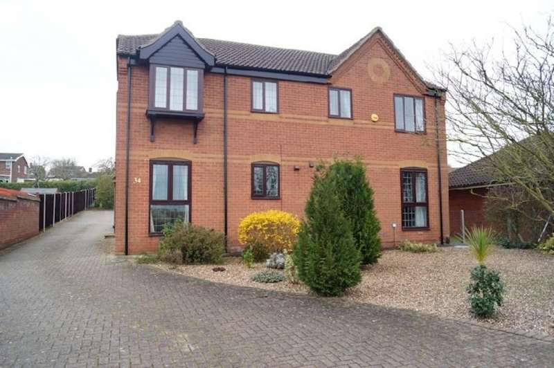 1 Bedroom Flat for sale in Lincoln Road, Washingborough