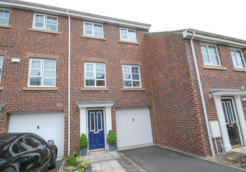4 Bedrooms Town House for sale in Market Walk, Jarrow