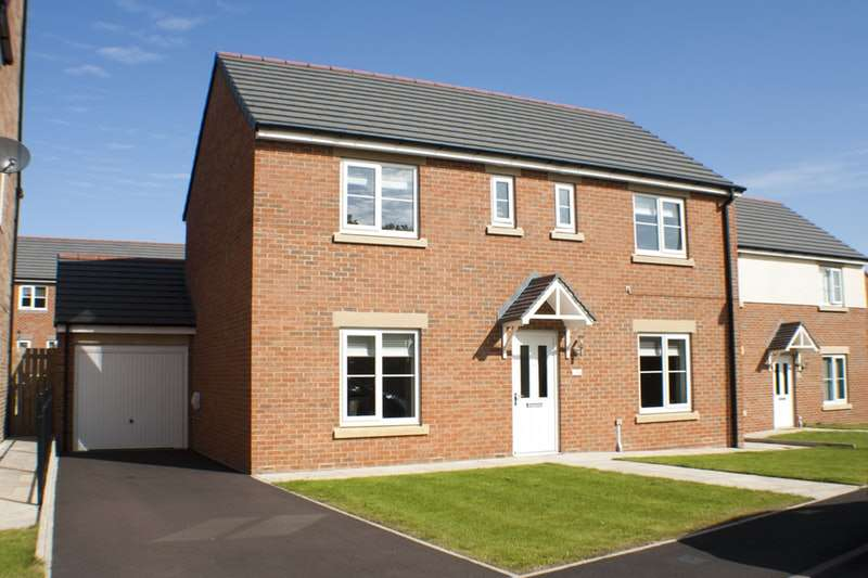 4 Bedrooms Detached House for sale in Waxwing, Washington, Tyne and Wear, NE38