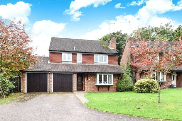 4 Bedrooms Detached House for sale in Jasmine Close, Wokingham, Berkshire