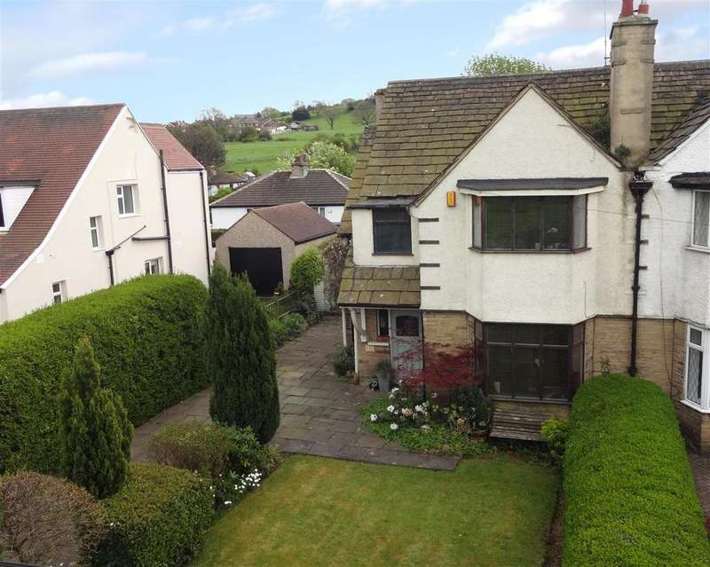 3 Bedrooms Semi Detached House for sale in Carr Road, Calverley