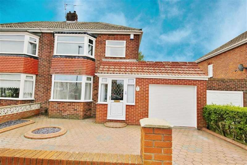 3 Bedrooms Semi Detached House for sale in Brierfield Grove, High Barnes, Sunderland, SR4