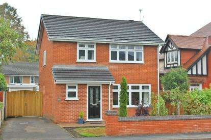3 Bedrooms Detached House for sale in Higher Knutsford Road, Stockton Heath, Warrington, Cheshire