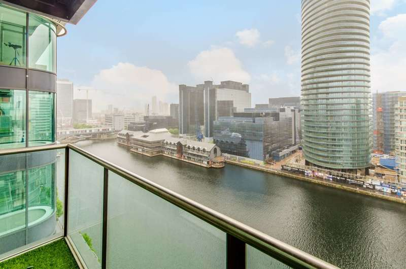 1 Bedroom Apartment Flat for sale in Millharbour, Canary Wharf, E14