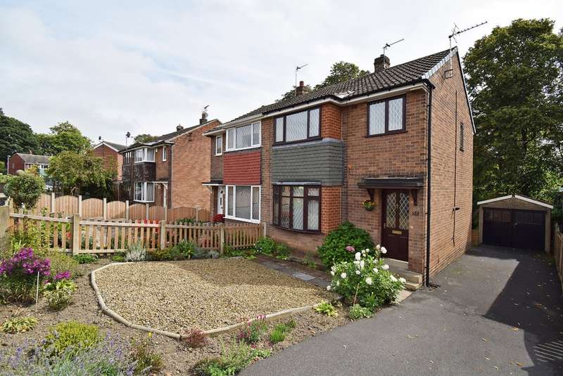 3 Bedrooms Semi Detached House for sale in Hall Park Avenue, Crofton, Wakefield
