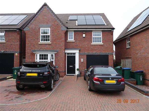4 Bedrooms Detached House for sale in Isadora Lea, Coventry