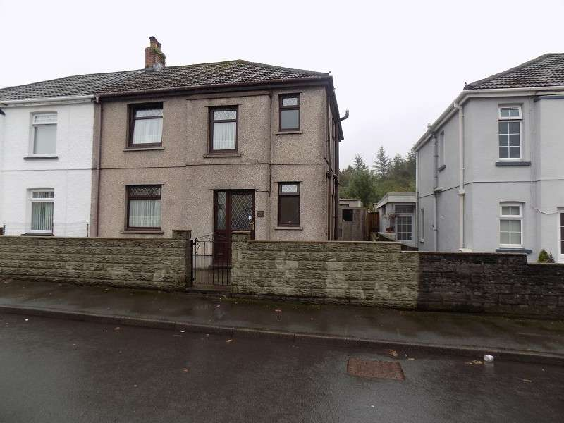 3 Bedrooms Semi Detached House for sale in Wembley Avenue, Onllwyn, Neath, Neath Port Talbot. SA10