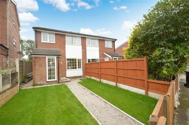 3 Bedrooms Semi Detached House for sale in Lowfield Road, Shaw Heath, Stockport, Cheshire