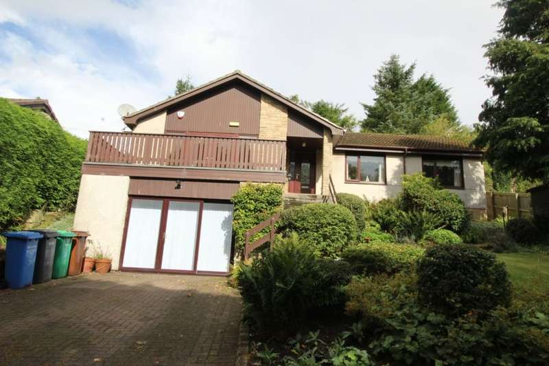 3 Bedrooms Detached Bungalow for sale in Prinlaws Road, Leslie, Glenrothes, KY6