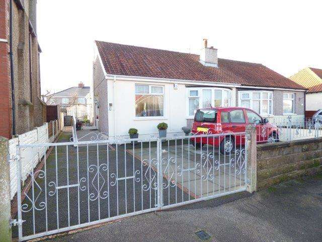 2 Bedrooms Semi Detached Bungalow for sale in Brook Road, Morecambe, Lancashire, LA3 1AY