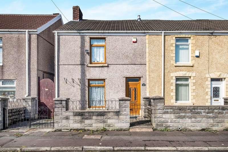 3 Bedrooms End Of Terrace House for sale in Dinas Street, Plasmarl, Swansea