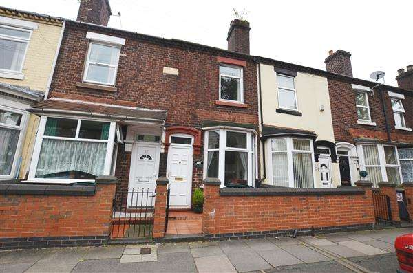 2 Bedrooms Terraced House for sale in Campbell Road, Stoke, Stoke-On-Trent