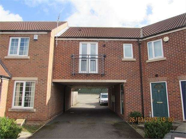 2 Bedrooms Flat for rent in Riverside Close, Conisbrough, DN12 3GA