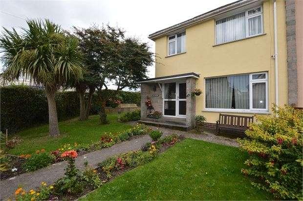 3 Bedrooms Semi Detached House for sale in Gestridge Road, Kingsteignton, Newton Abbot, Devon. TQ12 3HB