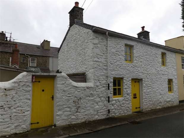 2 Bedrooms End Of Terrace House for sale in Dark Gate Street, Aberaeron, Ceredigion