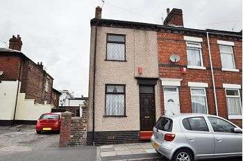 2 Bedrooms End Of Terrace House for sale in Cardwell Street, Northwood, Stoke-on-Trent, ST1 6PL