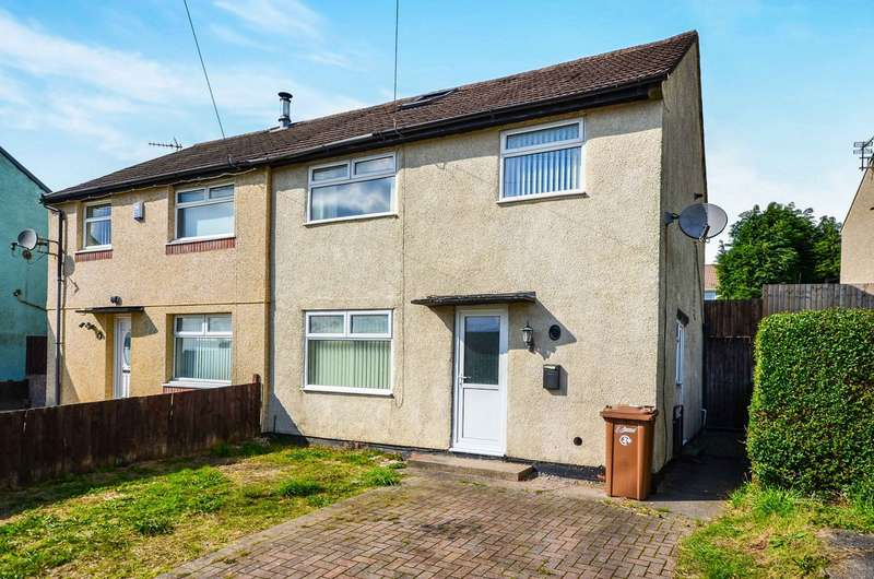 3 Bedrooms Semi Detached House for sale in Heol Graigwen, Caerphilly, CF83
