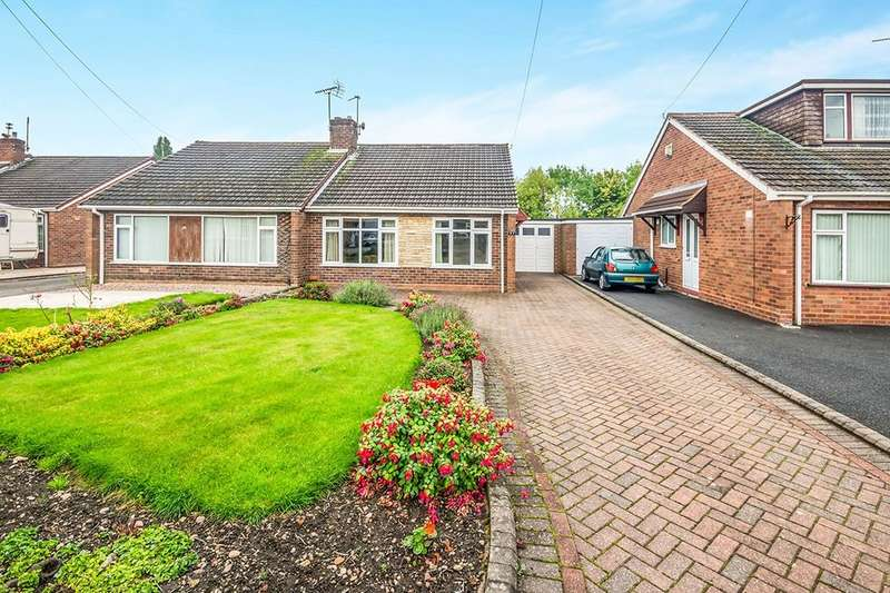 3 Bedrooms Semi Detached Bungalow for sale in Johnson Avenue, Wolverhampton, WV11