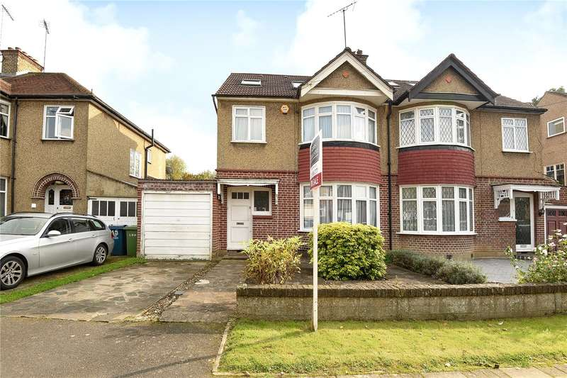 4 Bedrooms Semi Detached House for sale in Lincoln Road, North Harrow, Middlesex, HA2