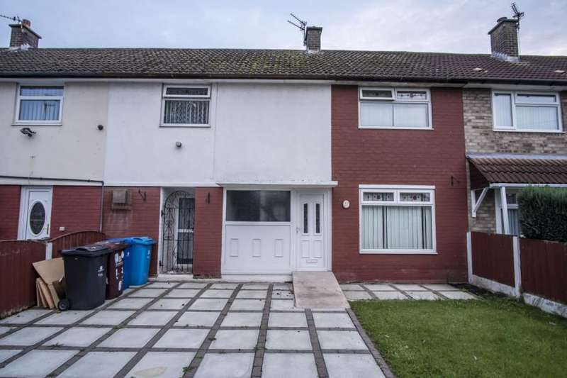 4 Bedrooms Terraced House for sale in Hillingden Avenue, Halewood, Liverpool,