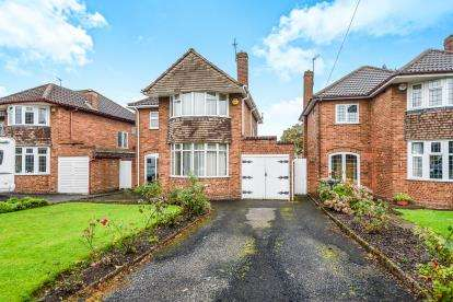 3 Bedrooms Detached House for sale in Somerset Road, Walsall, West Midlands