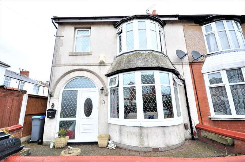 5 Bedrooms Semi Detached House for sale in Hemmingway, South Shore, Blackpool, Lancashire, FY4 3BP