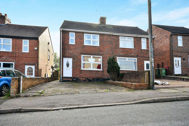 3 Bedrooms Semi Detached House for sale in Meadow Lane, Alfreton, DE55